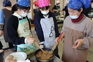 郷土料理教室